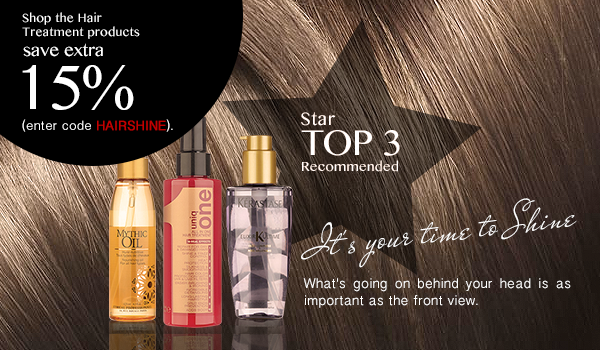 Hair Treatment at Extra 15% Off!