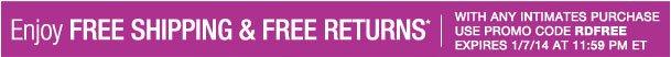 Enjoy Free shipping and Free returns! Use RDFREE