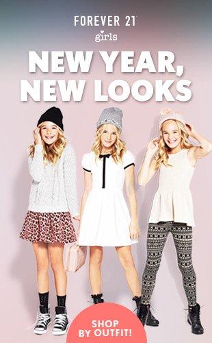 Forever 21 Girls: New Year, New Looks