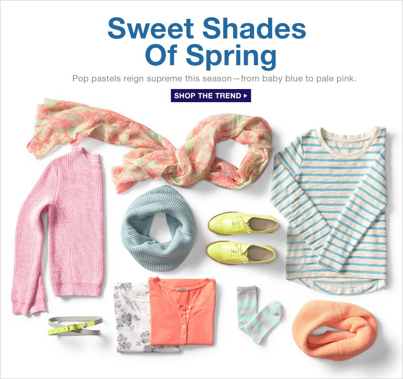 Sweet Shades of Spring | SHOP THE TREND