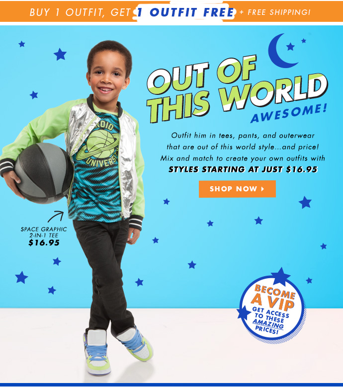 Out Of This World Awesome! Styles Starting at $16.95!