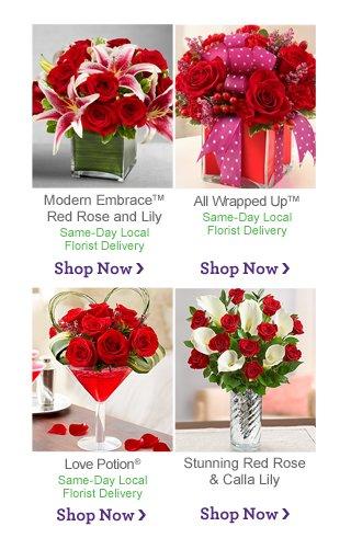 Shop Red Shop Now