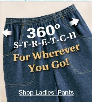 Stretch Waist Pants