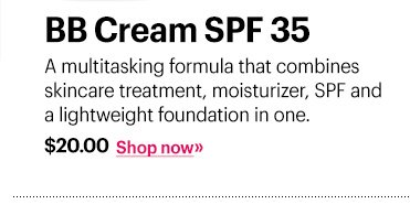 BB Cream SPF 35, $20A multitasking formula that combines skincare treatment, moisturizer, SPF and a lightweight foundation in one.Shop Now