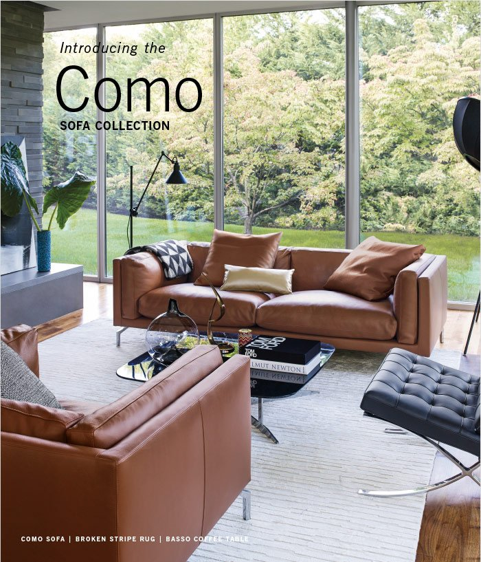 Introducing the SOFA COLLECTION Como
