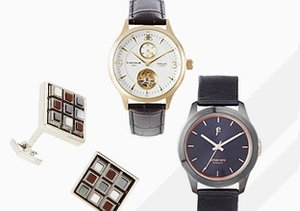 Well Suited: Watches & Cufflinks