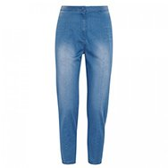 O'2ND - Faded cropped denim trousers