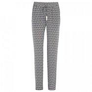 DIANE VON FURSTENBERG - Benett geometric print silk trousers