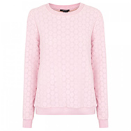 RAOUL - Lacey floral crochet and chiffon jumper