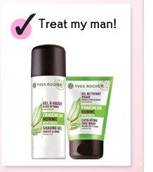 Treat my man!