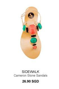 SIDEWALK Cameron Stone Sandals