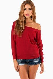 Layla Off Shoulder Sweater 29