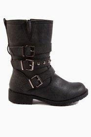 Triple Buckle Boots 50