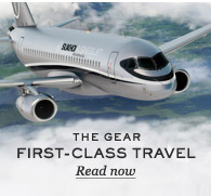 The Gear: First-Class Travel. Read now