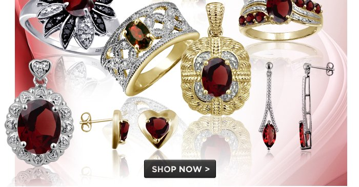Add a fiery touch to every outfit with January's gorgeous birthstone!. Save up to 90%. Shop Now >