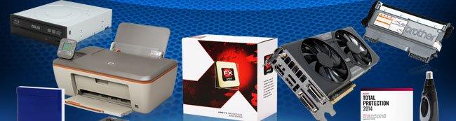 ODD, Printer, CPU, VGA, Toner, Trimmer