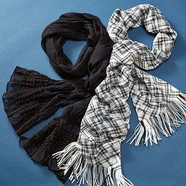 A Toasty Touch: Winter Scarves