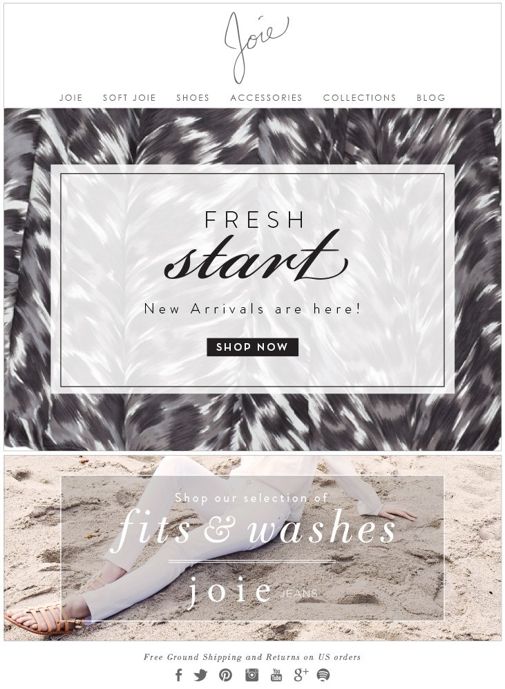FRESH start New Arrivals are here! SHOP NOW