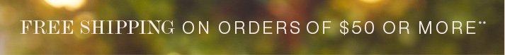 Free Shipping**