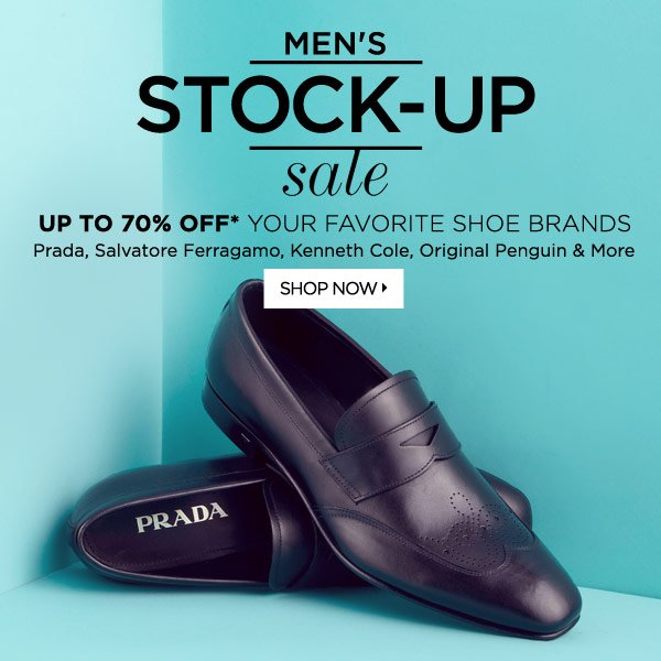 Stock Up Sale: Shoes