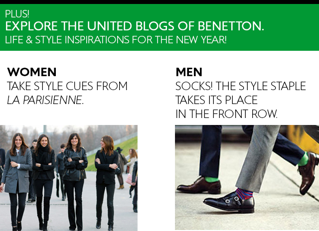 Explore the United Blogs of Benetton.