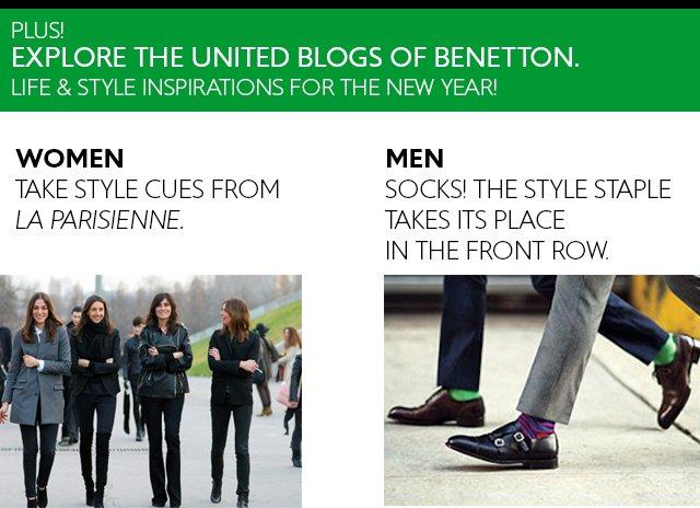 Explore the United Blogs of Benetton.