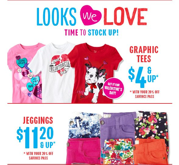 Looks We Love - Time to Stock Up!