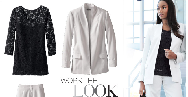 Work the Look, from 29.99 Ea. in 2's