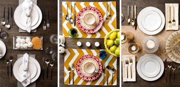 Tabletop Essentials Under $100: In Three Styles