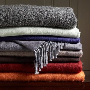 Layer On Style: With Throws in Cashmere & More