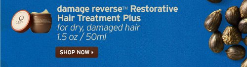 damage reverse Restorative Hair Treatment Plus for dry damaged hair  SHOP NOW