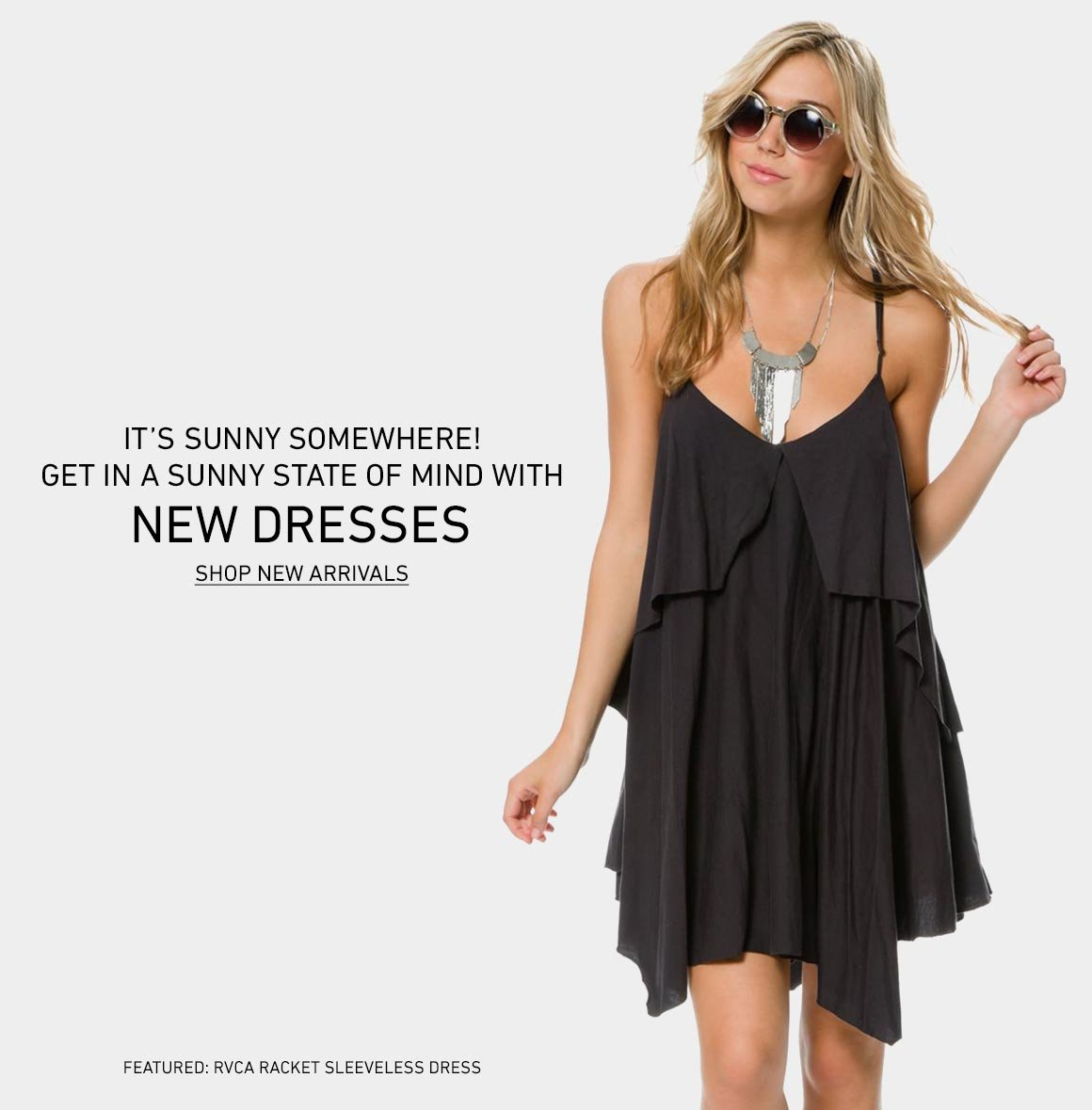 A Sunny State Of Mind: New Dresses