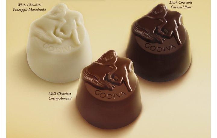 White Chocolate Pineapple Macademia | Dark Chocolate Caramel Pear | Milk Chocolate Cherry Almond