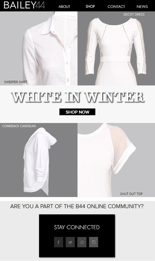 WHITE IN WINTER SHOP NOW