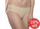 Scalloped-Trim Panties