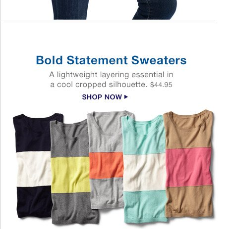Bold Statement Sweaters | SHOP NOW