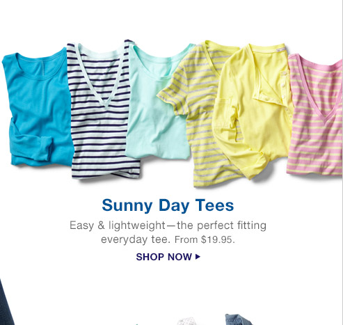 Sunny Day Tees | SHOP NOW