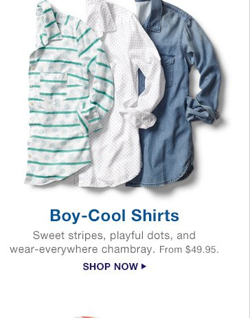Boy-Cool Shirts | SHOP NOW