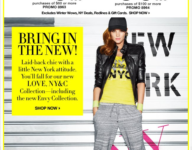 Shop the New LOVE, NY&C Collection!