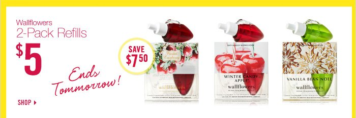 Wallflowers 2-Pack Refills - $5