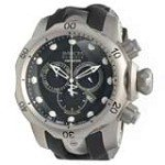 Invicta 14167 Men's Subaqua Venom Reserve Black Dial Black Rubber Strap Chronograph Dive Watch