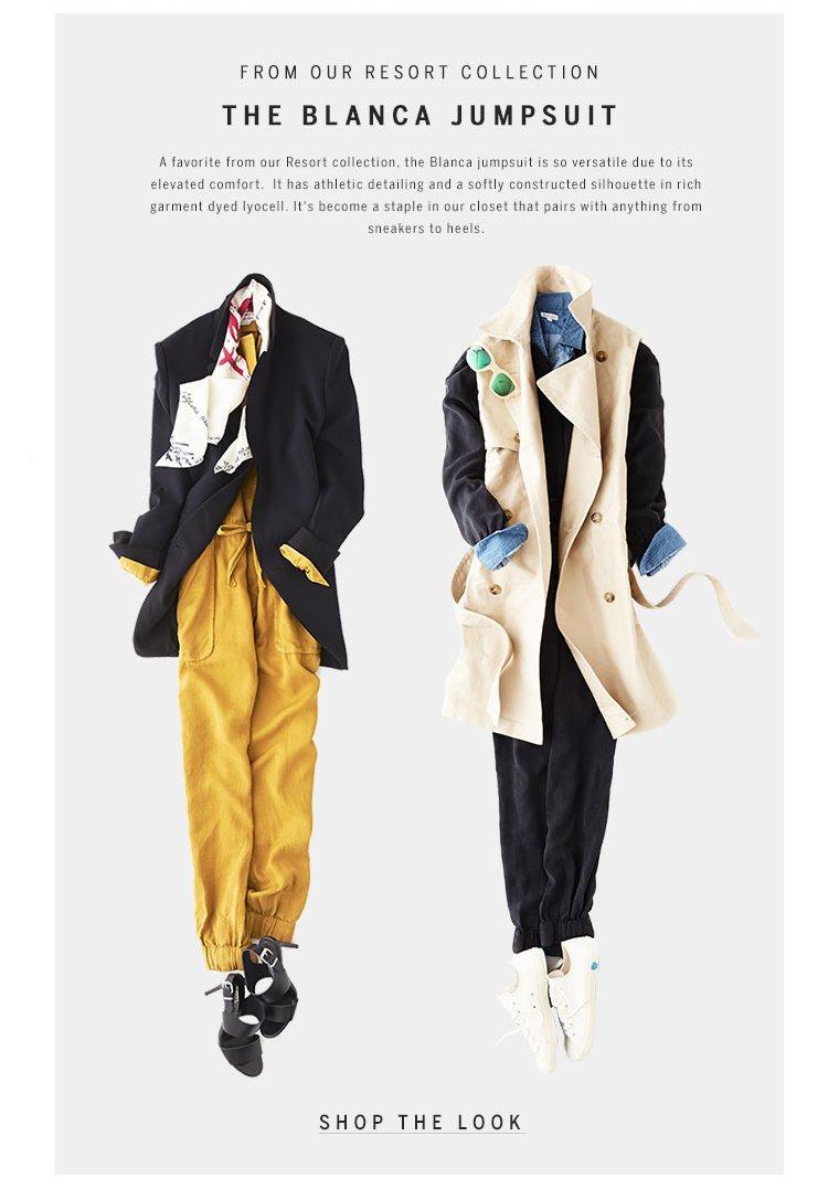 Shop our Blanca jumpsuit