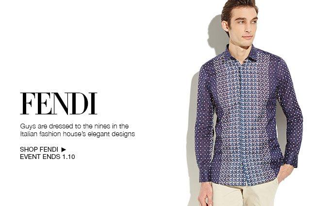 Shop Fendi - Men's