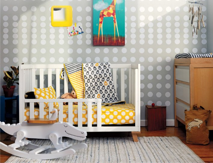 First  steps to a toddler room.