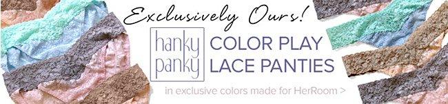 Hanky Panky Lace Panties