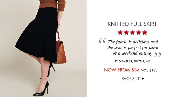Download Images: Knitted Full Skirt