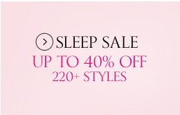 Sleep Sale