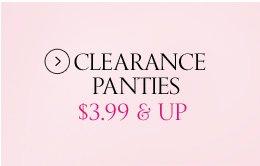Clearance Panties