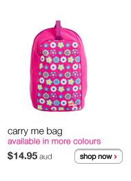 carry me bag - $14.95aud - available in more colours