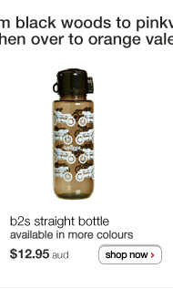 b2s straight bottle - $12.95aud - available in more colours